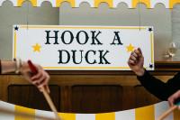 Saffery hook a duck