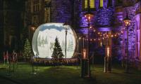 Snow globe party christmas