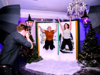 Christmas Giant Book Prop Photographer Clownfish Events Woodlands