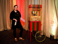 Christmas Popcorn Cart SS Clownfish Events Woodlands