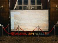 Digital graffiti wall Rhinefield