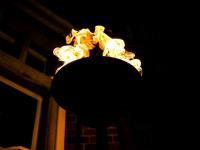Gas Flambeaux Hire Fire Woodlands