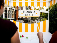Hook A Duck Sidestall Hire London Surrey CS Woodlands