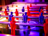LED Table Football Arcade Clownfish Events Woodlands
