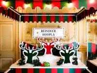 Reindeer Hoopla Christmas Sidestalls Clownfish Events Fetcham