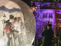 Snow globe photographer Clownfish events