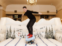 Snowboard Simulator Hire London Indoor