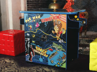 retro arcade machine indoor games
