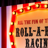 Roll a Ball Racing Fairground Game Festoon Events Company London Surrey Woodlands