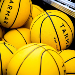Basketball Connect 4 Yellow Team Balls Woodlands