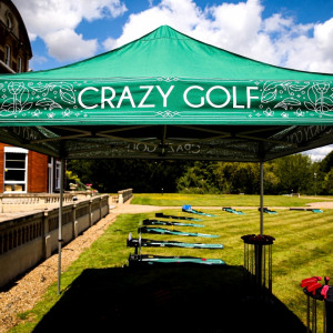 Crazy Golf Hire Gazebo Fetcham
