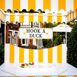 Hook a Duck Sidestall Hire London Surrey Clownfish Events Woodlands