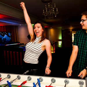 LED Table Football Winner Clownfish Events Woodlands