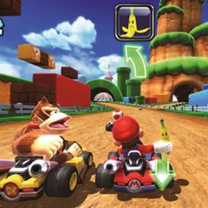 Mario Kart racing six