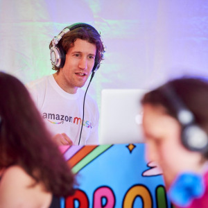 Silent Disco DJ Clownfish Events Amazon Pride