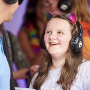 Silent Disco Headphones Hire Amazon Pride