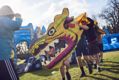 Chinese Dragon It's a Knockout