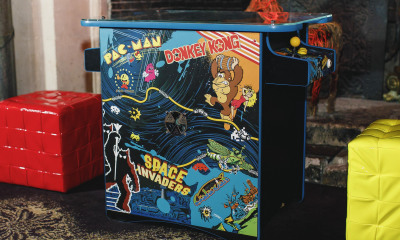 JC Edited Retro Arcade Machine Hire London