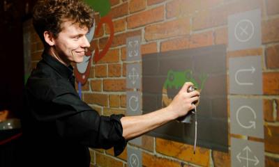 Rhinefield Digital Graffiti Wall