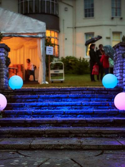 Shinnyo Festival_LED Spheres