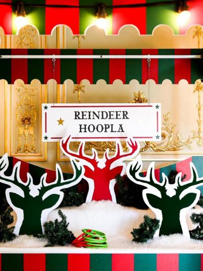 Reindeer Hoopla Christmas Sidestalls Clownfish Events Fetcham