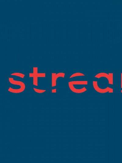Stream logo blue background 1