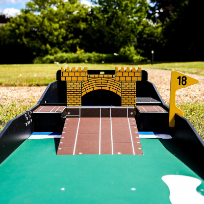 Crazy Golf Hire Hole 18 Fetcham