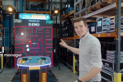 Meet Our World's Largest PACMAN