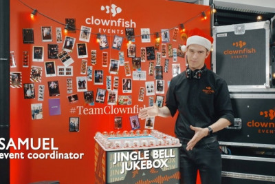 Meet our Jingle Bell Jukebox