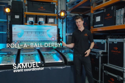 Meet our Roll-a-Ball Derby