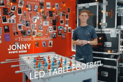 Meet our LED Table Football