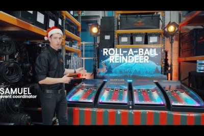 Meet our Roll a Ball Reindeer